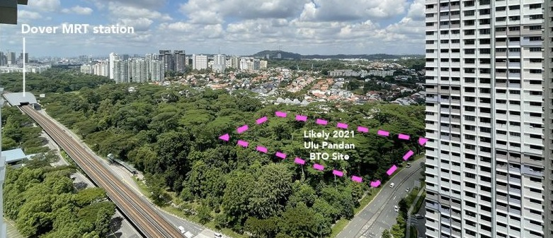 Ulu Pandan BTO flats in 2021: Prices + What's Next